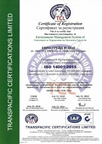 certificate of registration - euro trade