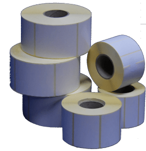 Labels and supplies on roll